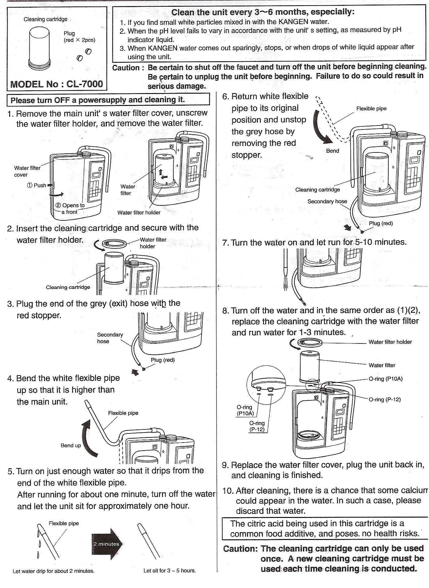 Leveluk Sd501 Kangen Water Compatible Mw 7000hg Hgn